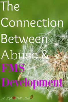 Validating Post-Traumatic Fibromyalgia 2 ~ The Connection Between Abuse & FMS Development #ChronicFridayLinkup http://alifewellred.com/validating-post-traumatic-fibromyalgia-2-connection-abuse-fms-development/