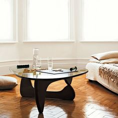 Noguchi Coffee Table - Black - Replica | Milan Direct