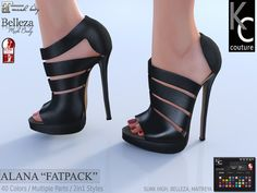 I love this shoes! I got them on a sale at KC's! .:KC:. ALANA for Slink High Feet, Maitreya & Belleza https://marketplace.secondlife.com/p/KC-ALANA-for-Slink-High-Maitreya-Belleza-FATPACK/6594064