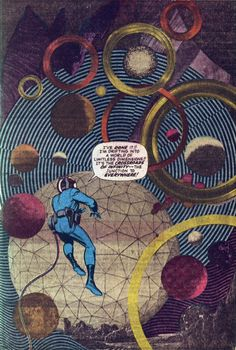 """Jack Kirby's photo-collage in """"Fantastic Four"""" #51"""