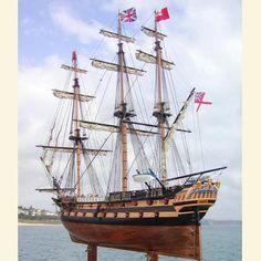 Wooden Ships Models | HMS Serapis | Model Ships for Sale