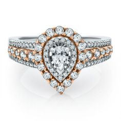 Helzberg Diamond Symphonies® 1 ct. tw. Diamond Engagement Ring in 14K Gold