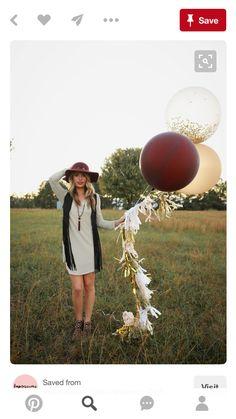 Big fancy balloons