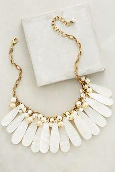 Anthropologie Mystic Seas Bib Necklace #anthrofave