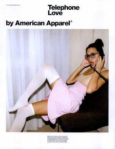 American Apparel Ad Campaign Fall/Winter 2008 Shot #5