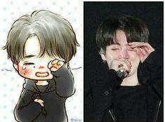° A story where Jimin is a fanboy of actor Jeon Jungkook.Jimin makes… Story Bts Jungkook, Jungkook Fanart, Namjoon, Fanart Bts, Vkook Fanart, Taehyung, Bts Chibi, Chibi Manga, Chibi Eyes