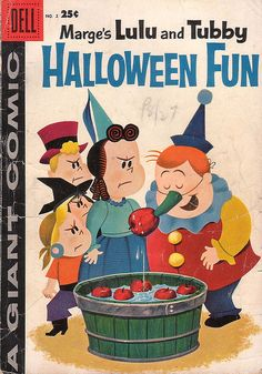 Little Lulu Halloween Fun, No 2, 1958, via Flickr.