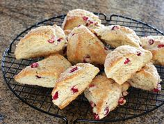 Delicious Cranberry Scones with a Hint of Orange