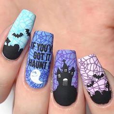 Holiday Nail Designs, Cute Nail Art Designs, Halloween Nail Designs, Colorful Nail Designs, Halloween Nail Art, Holiday Nails, Acrylic Nail Designs, Nail Swag, Cute Spring Nails