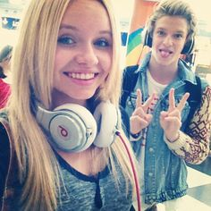 My inspiration is Alli Simpson. If u don't know who she is, LOOK HER UP. She is Cody Simpsons sister that is just as talented as him! If u don't know who Cody Simpson is then look him up while your looking Alli Simpson up. Love ya Alli and Cody❤ Cody Simpson, Celebs, Celebrities, Man Candy, Beats Headphones, Justin Bieber, Music, Hair, Inspiration