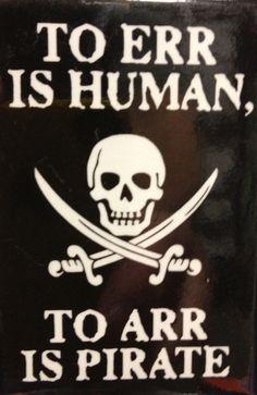 Everyone for Rum And Raisin say ARRR!