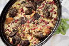Viltgryte med reinsdyrkjøtt og kantareller Sausage, Beef, Food, Meat, Sausages, Essen, Meals, Yemek, Eten