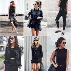 All black inspiration  #moreontheblog #allblack #allblackeverything #inspiration