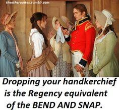 So true. Jane Austen is the original Elle Woods lol