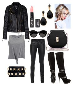 A fashion look from July 2015 featuring sleeveless shirts, biker jackets and faux-leather pants. Browse and shop related looks. Faux Leather Pants, Sleeveless Shirt, Biker, Victoria, Fashion Looks, Polyvore, Jackets, Shirts, Shopping