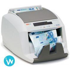 Gagnez du temps pour faire votre caisse grâce à cette compteuse de billets Ratiotec S20 disponible sur www.waapos.com, spécialiste de la monétique