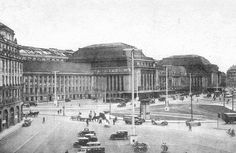 Leipzig Hauptbahnhof 1927 - New Ideas Germany Travel, Snorkeling, Places To Visit, Louvre, Europe, City, Building, Pictures, Facebook Pinterest