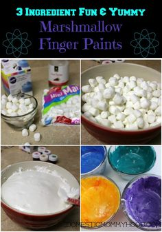 As you all know my family is all about ooey gooey sticky fun and this DIY marshmallow finger paint was a big hit at our house this weekend! All you need are 3 ingredients and your children will be in ooey gooey sticky heaven! Did I happen to mention that the finger paint is edible!! …