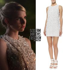 This is too cute! I love the dress and the design! I sure wish I was Emma Roberts.