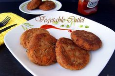 Vegetable Cutlet is an easy and delicious Indian snack made from mashed potatoes and other veggies, perfect to have along with a cup of tea in the evening.