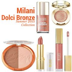 Milani Dolci Bronze for Summer 2015