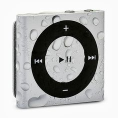 Waterfi Waterproof iPod Shuffle with Dual Layer Waterproof/Shockproof Protection (Silver) Ipod Nano, Apple Tv, Mp3 Player, Silver, Sports 5, Water Sports, Lose Weight, Weight Loss, Tvs