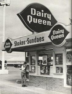 Dairy Queen on Dixie Highway in 1970