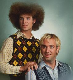Matt Stone and Trey Parker.