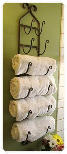 Personalizzare e decorare il bagno con i portasciugamani | Un blog sulla cultura dell'arredo bagno