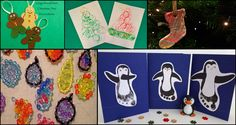 8 Christmas Craft Ideas to Do with the Kids
