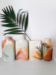 tropical pattern inspiration | ceramics inspiration | color palette inspiration | home decor inspiration