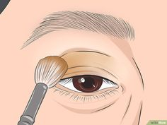 How to Apply Eye Makeup (for Women Over Once you reach the age of your skincare needs change. Mature skin tends to be dry, and fine lines and wrinkles may make it seem difficult to apply flawless makeup, especially around the. Dark Eyeshadow, How To Apply Eyeshadow, Cream Eyeshadow, Eyeshadow Brushes, How To Apply Makeup, Makeup For 50 Year Old, Makeup Tips For Older Women, Makeup Over 50, Face Makeup Tips