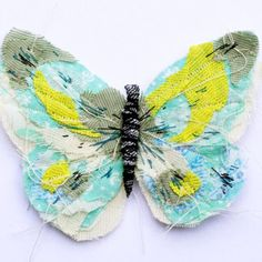Fabric butterfly
