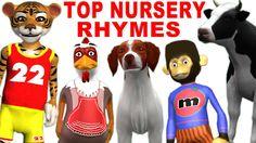 Nursery Rhymes for Children | Animal Cartoons Singing Popular English So...