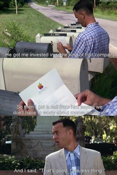 Matt says this quote all the time! LOL Forrest Gump (1994)