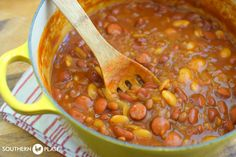 Craving Beans – and a not funny, funny story about them ~ http://www.southernplate.com