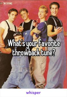 What's your favorite throwback tune?