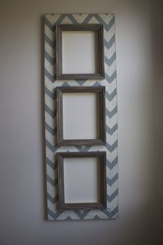 Distressed Frames-love the chevron
