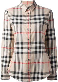 f918aca6f4a7 Burberry classic check shirt on shopstyle.com Checker Top, Check Shirt,  Fashion Wear