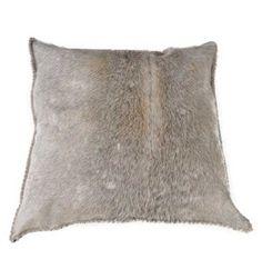 Hide cushion = grey