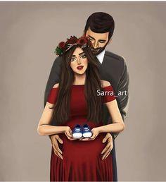 Someday 😍 - Girly_m - Cute Couple Drawings, Cute Couple Art, Cute Drawings, Cute Couples, Girly M, Mother Daughter Art, Mother Art, Sarra Art, Mode Poster