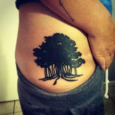 My new bodhi tree tattoo.