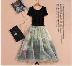 【楽天市場】バランス感覚重視のドレス♪ワンピース 結婚式 女子会 発表会 保護者会 演奏会 大きいサイズ パーティー セレブ 女優 カジュアル 普段着 オフィス 新作 雑誌 OL【はこぽす対応商品】[cpy06]:Gracefulsmile Fashion 2018, Womens Fashion, Thats The Way, Knitting Designs, Mix Match, Boho Dress, Dress To Impress, Style Me, Tulle