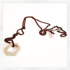 Mens big bolt nut necklace - Maiden-Art  - 1
