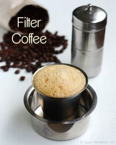 No coffee like SouthIndian filter coffee. Unlike how India is well known for 'Chai,' Chennai is well known for it's ground roast, one-of-a-kind Filter Coffee.