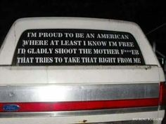 Proud to be an American ~ Via Intelligent Redneck . Southern Girls, Southern Comfort, Country Girls, Rebel, Free Id, American Freedom, Home Of The Brave, Down South, Yesterday And Today