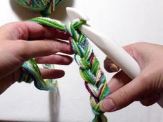How to Crochet a Chunky Last-Minute Scarflet - CraftStylish --This is FAB! She is a hoot too. :)