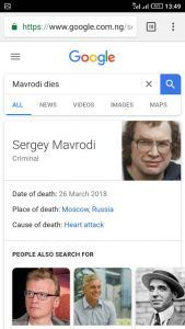 Sergei Mavrodi, MMM