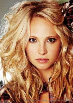 Candice Accola....aka Caroline from Vampire Diaries! How I love that show. beautiful hair
