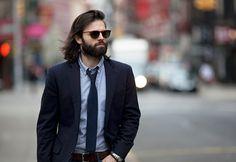 Street style. Men's wear. Men's style. Men's  fashion.  Source: GQ